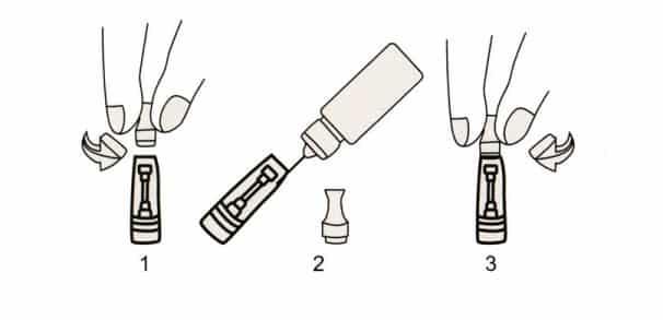 clearomizer ce4 v2 stardust pour cigarettes electroniques 1 - KIT EGO STARDUST JOYETECH