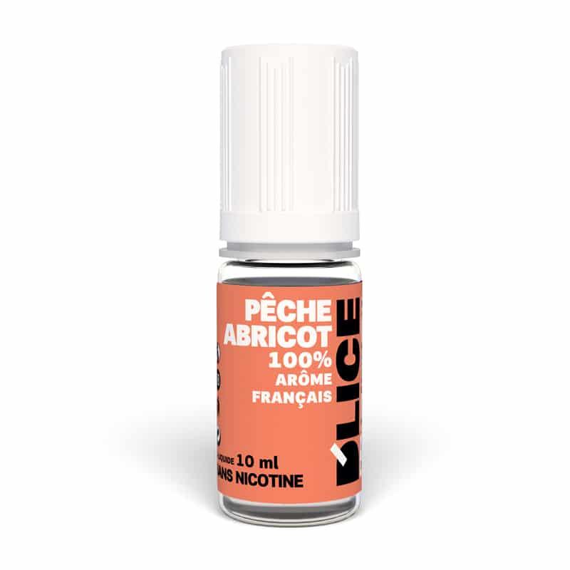 E-liquide D'lice peche Abricot