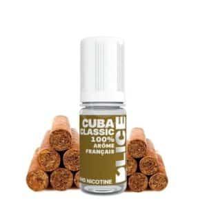 E-liquide D'lice Cuba classic