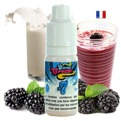 Sweet Cream Numéro 7 Eliquid France