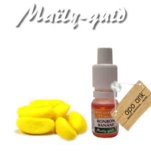 E-liquide Maily-Quid Bonbon Banane