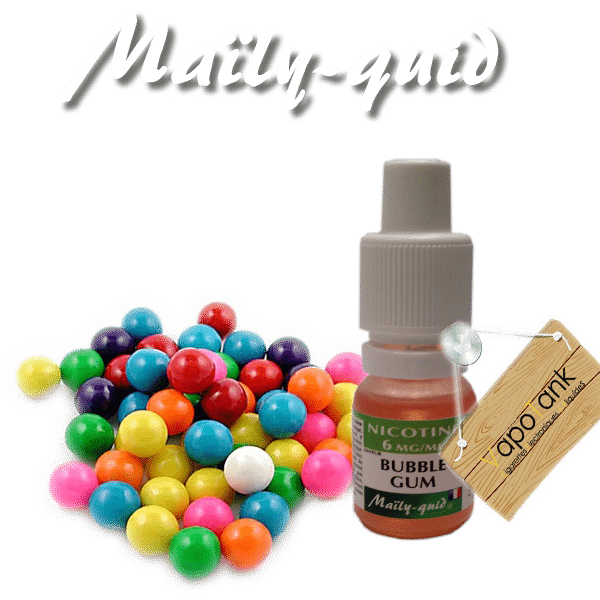 E-liquide Maily-Quid Bubble Gum