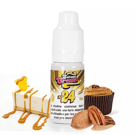 Sweet Cream Numéro 24 Eliquid France