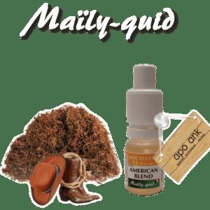 E-liquide Maily-Quid Tabac Americain