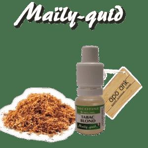 E-liquide Maily-Quid Tabac Blond