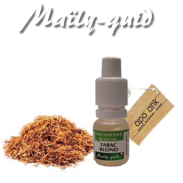 E-liquide Maily-Quid Tabac Blond