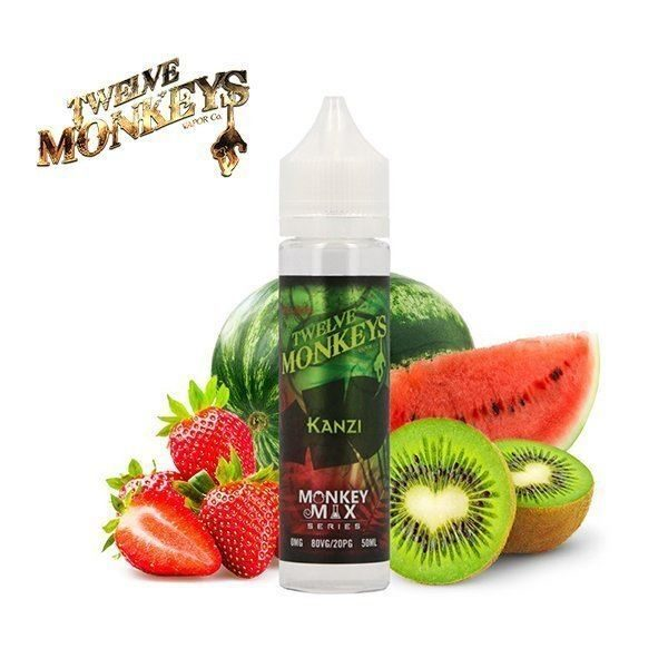 E-liquide Kanzi Twelve Monkeys