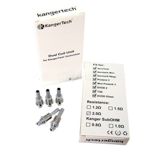 Résistance Dual Coil V3 Kangertech