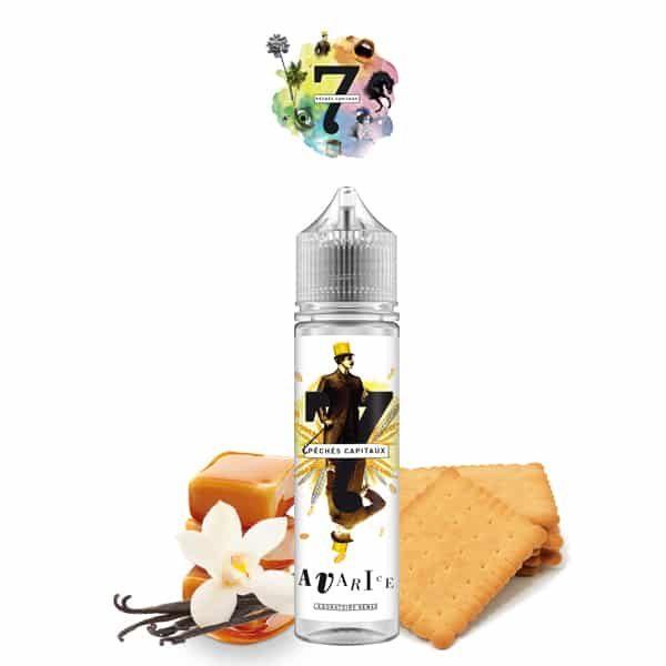 E-liquide L'Avarice 7 Péchés Capitaux