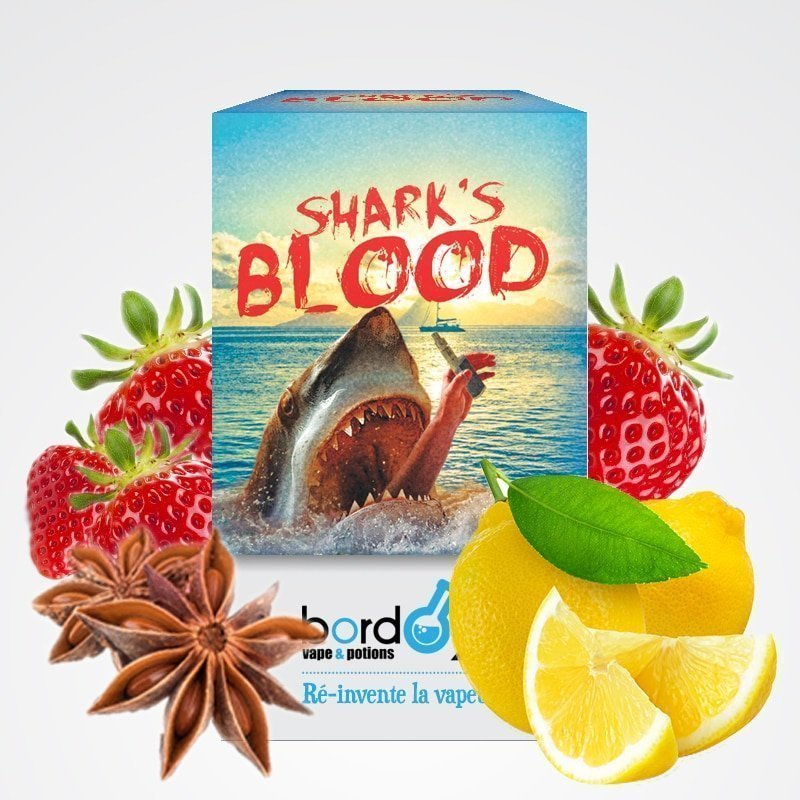 E-liquide Shark's Blood Bordo2