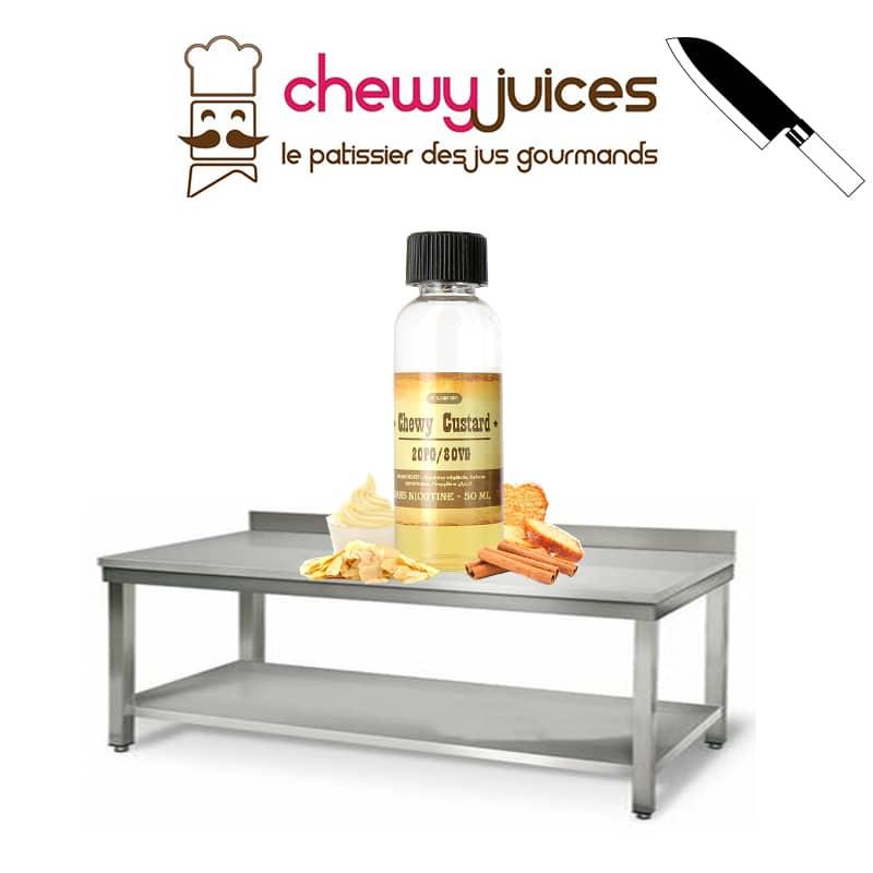 eliquide chewie custard chewy juice - Eliquide Chewy Custard
