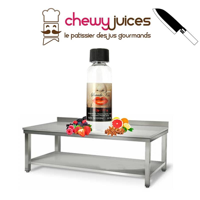 eliquide suicide kiss chewy juice - Eliquide Suicide Kiss