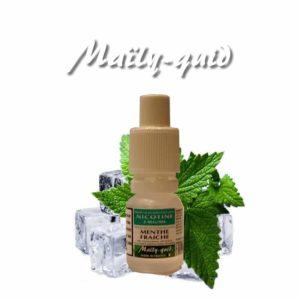 E-liquide Menthe Fraiche Maily-Quid
