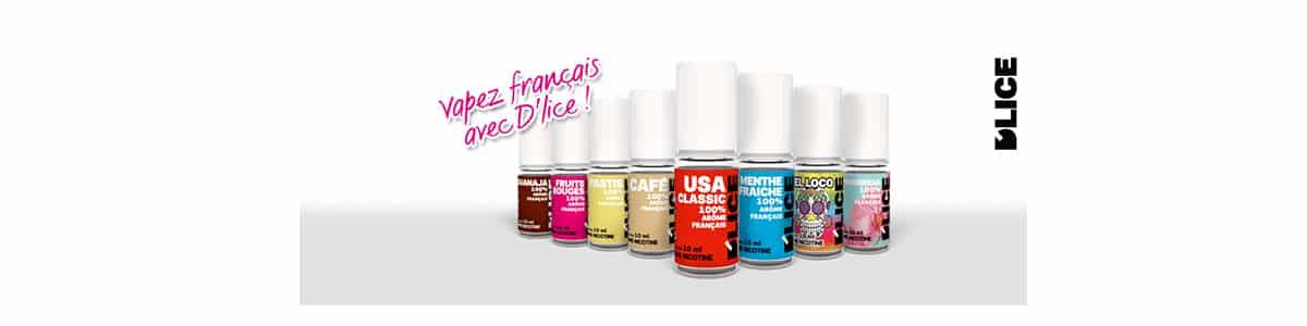 Que sont les produits E liquide Dlice  - E-liquide D'lice mojito