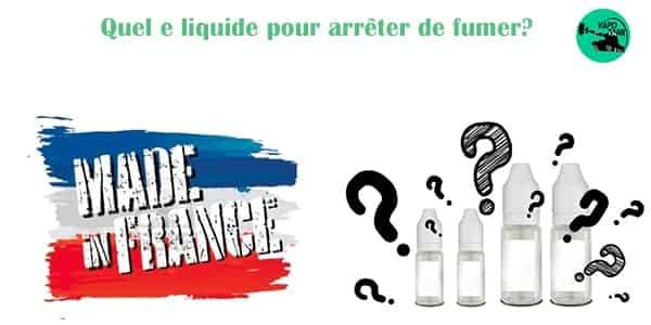 Quel e liquide de base choisir?