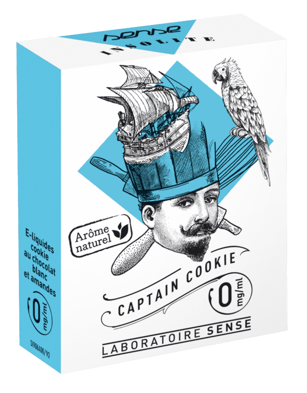 E-liquide Captain Cookie Insolite Sense