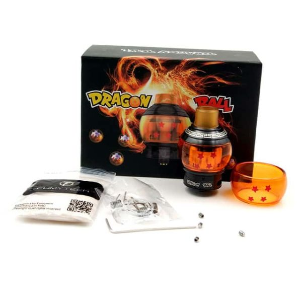 100 Oryginalny Fumytech Dragon Ball RTDA KRYSZTA RDTA E Papieros Rozpylacze Zbiornik Vape z Szklanej rurki.jpg 640x640 600x600 - Dragon Ball V2 RTA - Fumytech