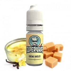 Arôme concentré Crème Brûlée SuperVape