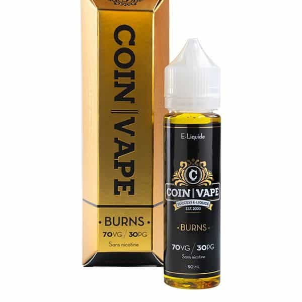 E liquide Burns Coin Vape 50ml