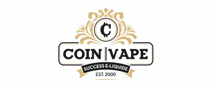 logo coin vape - E liquide Burns Coin Vape 50ml