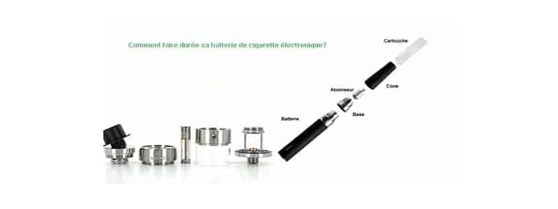 Comment faire durer sa batterie de cigarette électronique?