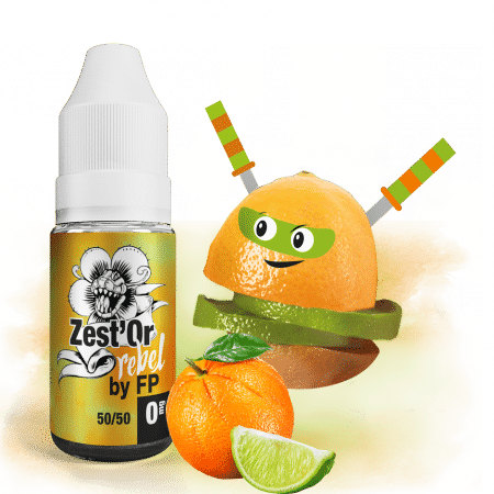 E-liquide Rebel Zest Or Flavour Power