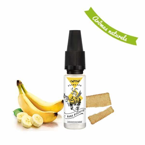 eliquide banane biscuito Sense 600x600 - E liquide Bana Biscuito Insolite Sense