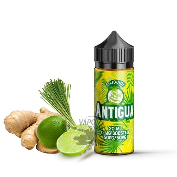 E-liquide Antigua West Indies