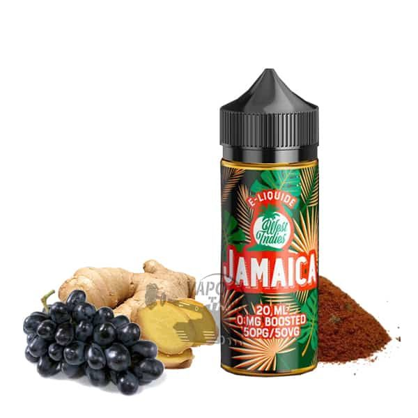 E-liquide Jamaica West Indies