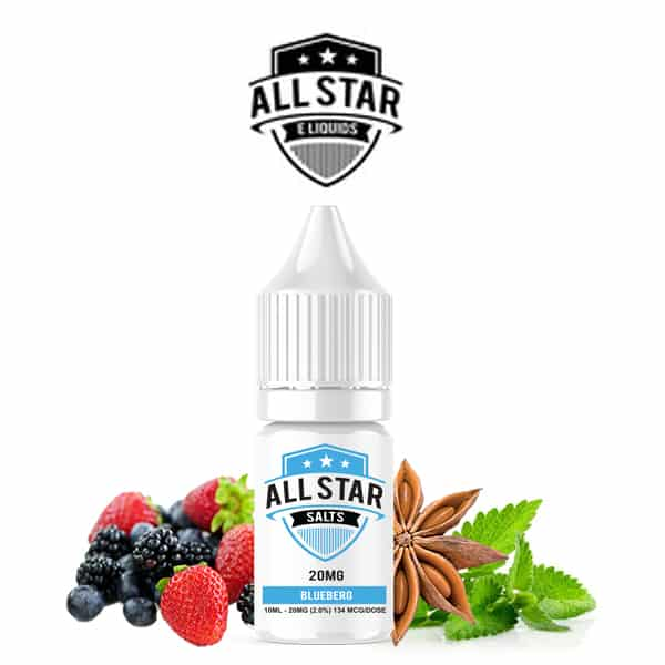 E-liquide Blueberg All Star