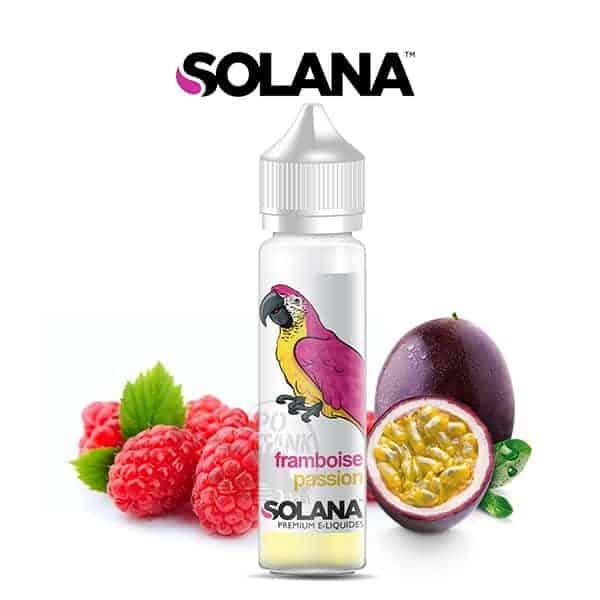 E-liquide Framboise Passion Solana 50ml