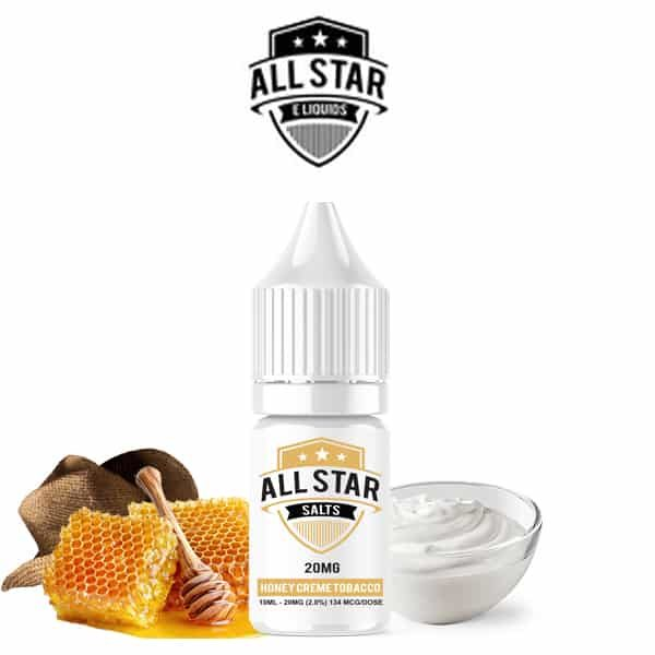 E-liquide Honey Crème Classic All Star