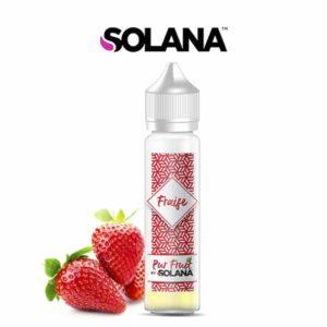 E-liquide Fraise Pur Fruit 50ml Solana