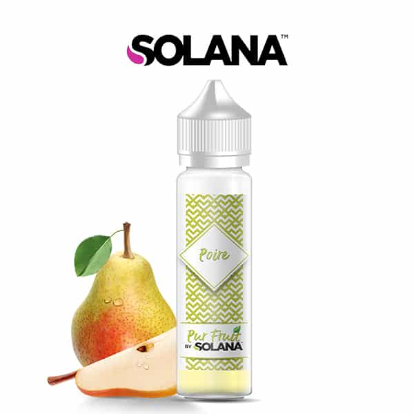 E-liquide Poire Pur Fruit 50ml Solana