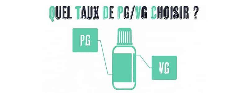 Quel est le meilleur ratio PG VG ?