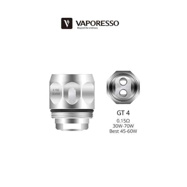 Résistance GT4 NGR Vaporesso