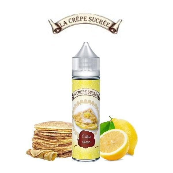 E-liquide crêpe citron la crêpe sucrée