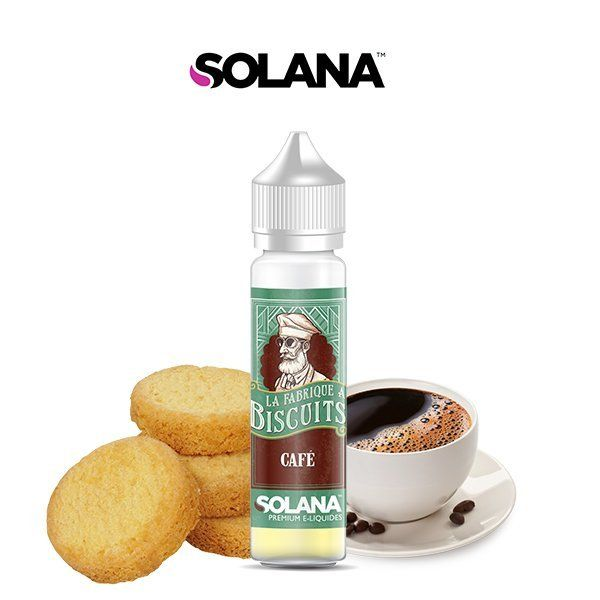 E liquide Biscuit Café La Fabrique à Biscuit Solana