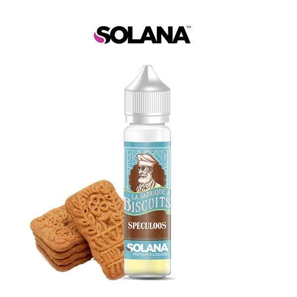 E liquide Biscuit Spéculoos La Fabrique à Biscuit Solana