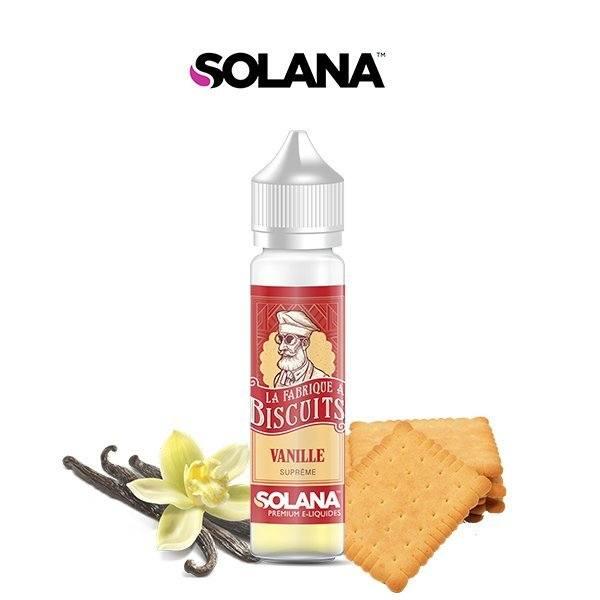 E liquide Biscuit Vanille La Fabrique à Biscuit Solana