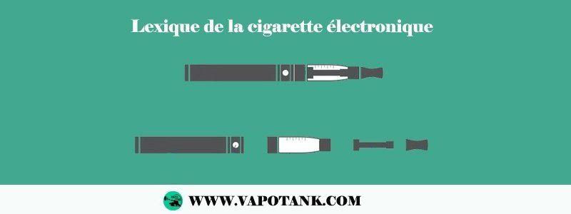 Lexique de la cigarette électronique