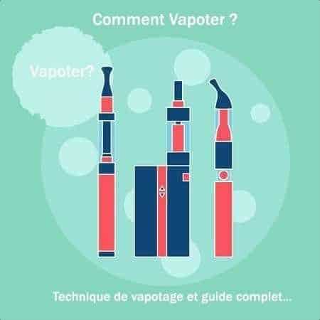 comment vapoter - Blog de cigarette électronique