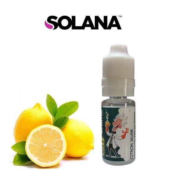 Arôme concentré Citron Jaune Solana