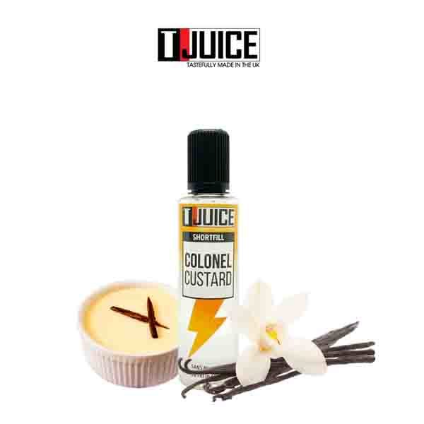 E-liquide Colonel Custard Tjuice 50ml