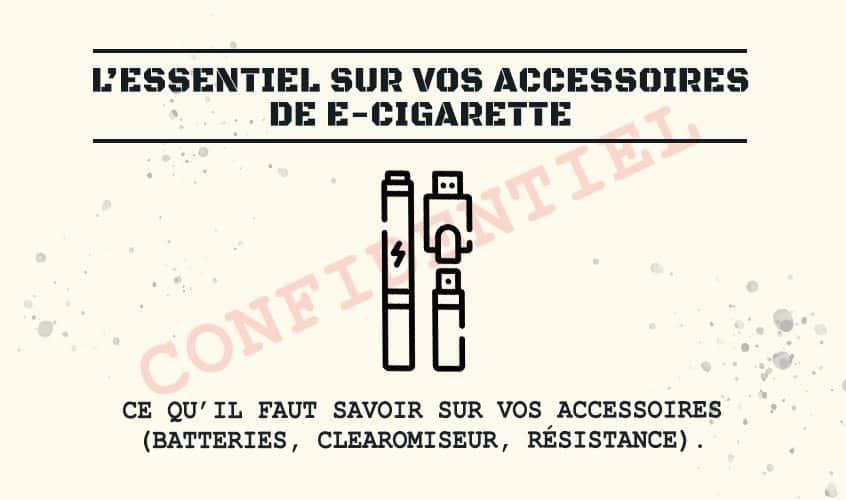 accessoires ecigarette - Blog de cigarette électronique