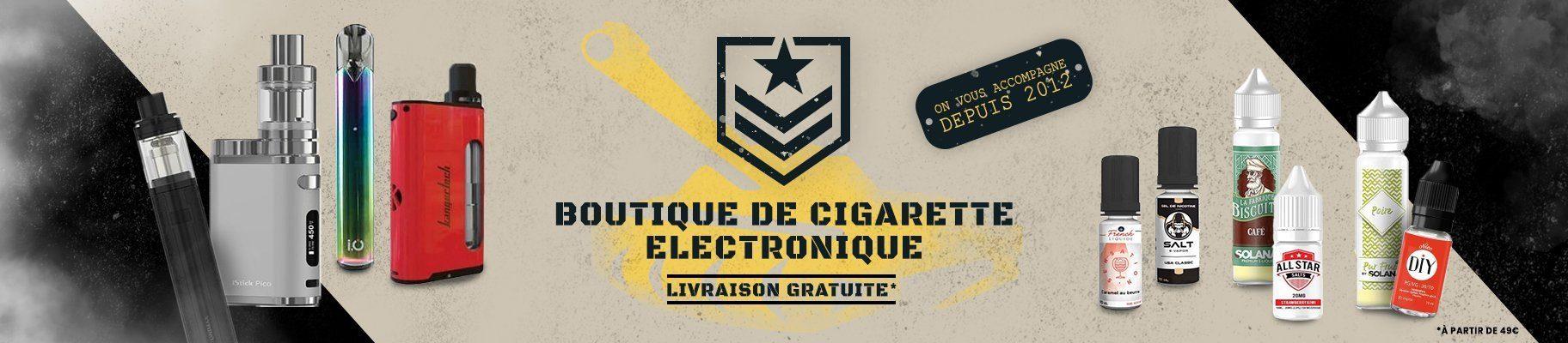banniere vapotank - Boutique de cigarette électronique, eliquides à pas cher.