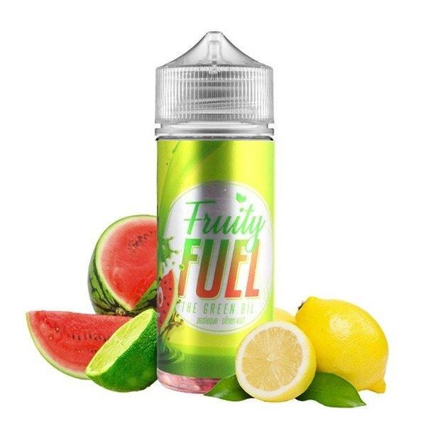 E-liquide The Green Oil 100ml Fruity Fuel