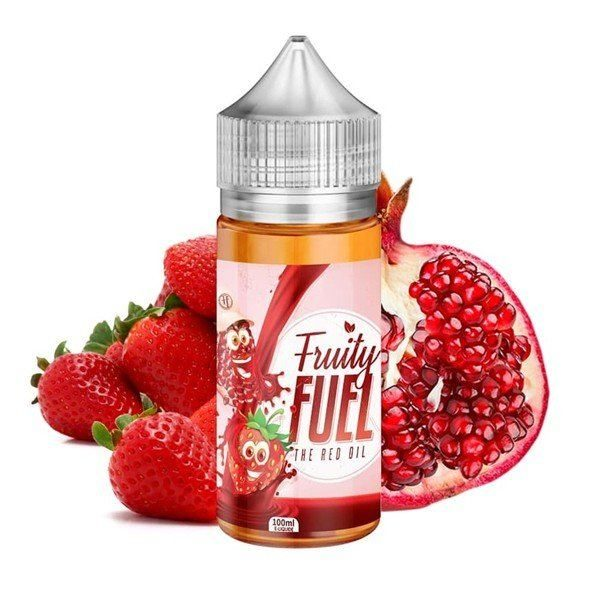 E-liquide The Red Oil 100ml Fruity Fuel