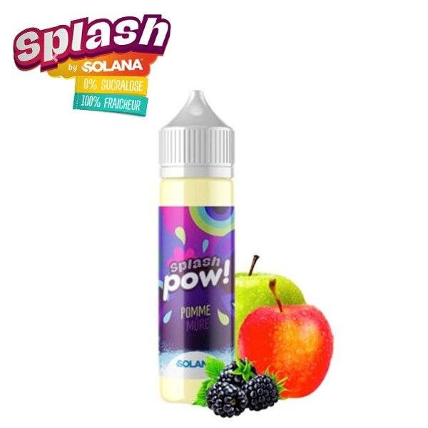E-liquide Pow Splash 50ml Solana