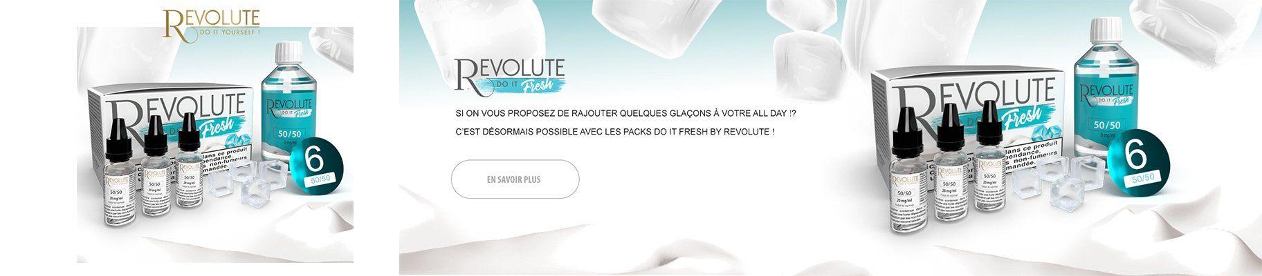 kit diy fresh revolute - Boutique de cigarette électronique, eliquides à pas cher.